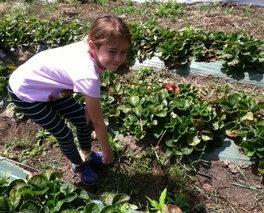 Girl farming!